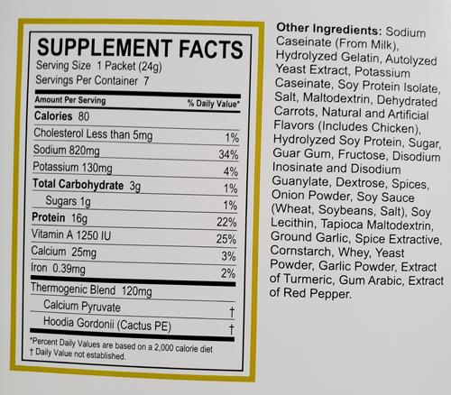Gold Premium Supplement Chicken Soup Physicians Weight Loss